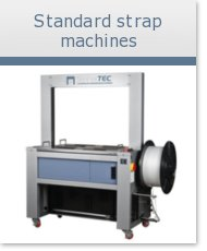 Wide strapping machines