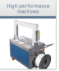 High-performance strapping machines
