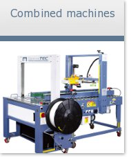 Combined machines strapping machines